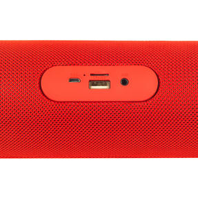Intempo EE2679REDSTK Large Fabric Bluetooth Party Speaker with Enhanced Bass, Red Thumbnail 6