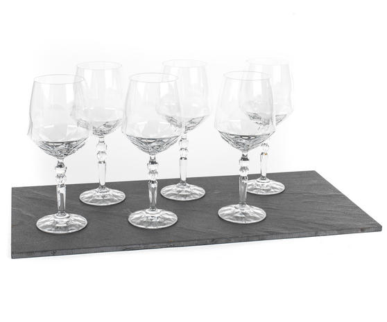RCR 26522020006 Crystal Glassware Alkemist Cocktail Glasses, 670 ML, Set of 6