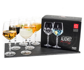 RCR 26522020006 Crystal Glassware Alkemist Cocktail Glasses, 670 ML, Set of 6 Thumbnail 2