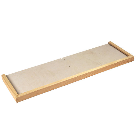Beldray Pine Hearth Tray, 125l x 38w cm