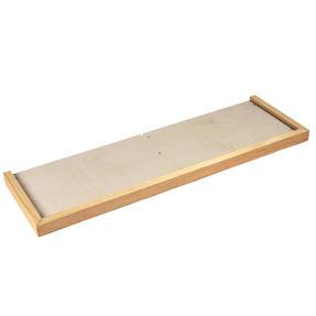 Beldray EH1801BQ Pine Hearth Tray, 125l x 38w cm Thumbnail 1