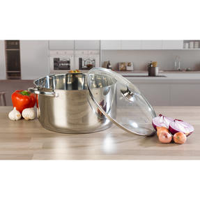 Russell Hobbs Classic Collection 6 Piece Pan Set and 28 CM Casserole Pan, Stainless Steel Thumbnail 3