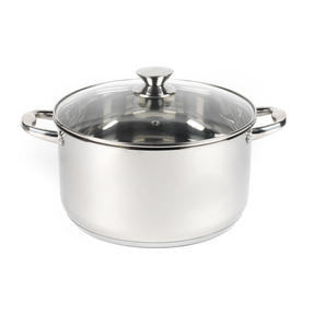 Russell Hobbs Classic Collection 6 Piece Pan Set and 28 CM Casserole Pan, Stainless Steel Thumbnail 6