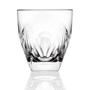 RCR COMBO-2192 Fior Di Loto Crystal Whisky Tumblers Glasses, 270 ml, Set of 12 Thumbnail 1