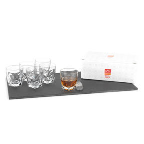 RCR COMBO-2192 Fior Di Loto Crystal Whisky Tumblers Glasses, 270 ml, Set of 12 Thumbnail 4