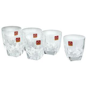 RCR COMBO-2192 Fior Di Loto Crystal Whisky Tumblers Glasses, 270 ml, Set of 12 Thumbnail 6