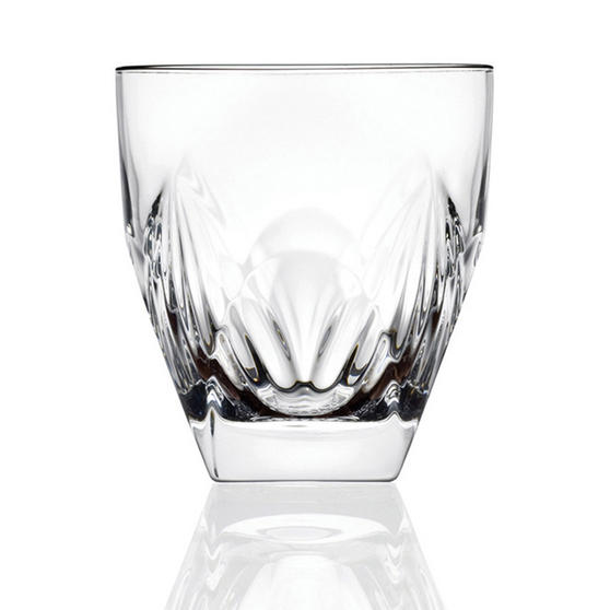 RCR COMBO-2193 Fior Di Loto Crystal Whisky Tumblers Glasses, 270 ml, Set of 24
