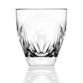 RCR COMBO-2193 Fior Di Loto Crystal Whisky Tumblers Glasses, 270 ml, Set of 24 Thumbnail 1