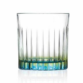 RCR COMBO-2217 Set of 12 Gipsy Coloured Luxion Crystal Whisky Glasses, 6 Orange and 6 Green Thumbnail 7