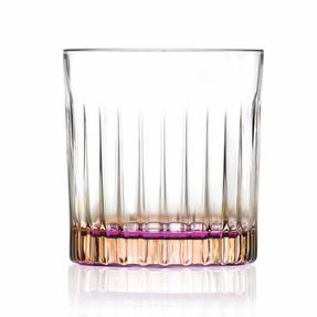 RCR COMBO-2217 Set of 12 Gipsy Coloured Luxion Crystal Whisky Glasses, 6 Orange and 6 Green Thumbnail 8