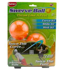 JML V19999 Swerve Baseball Extra Curve Ball, Set of 3