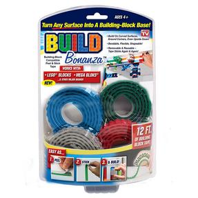 JML V02684 Flexible Build Bonanza Strips for Lego, 3 Roll Set