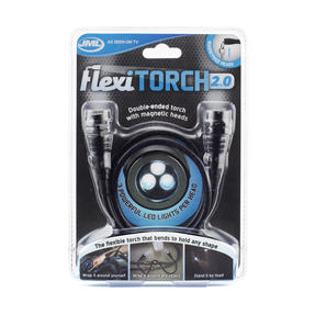 JML V06123 Flexi Torch with 2 Magnetic Torch Heads