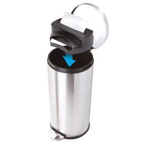 JML V20136 Trash Tidy Dustbin Rubbish Bag Dispenser with 15 x 50L Bin Bags/Liners