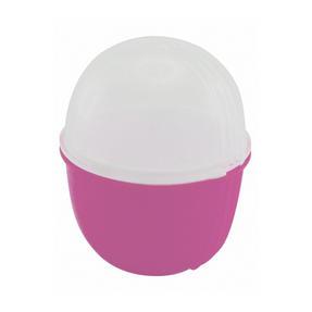 JML V03109 Crackin? Eggs Microwave Egg Cooker Boiler Poacher Scrambler, Pink Yellow or Purple Thumbnail 2
