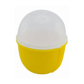 JML V03109 Crackin? Eggs Microwave Egg Cooker Boiler Poacher Scrambler, Pink Yellow or Purple Thumbnail 3