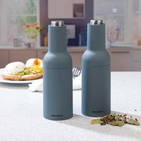 Progress COMBO-2190 Gravity Electric Salt and Pepper Mills, Grey Thumbnail 2