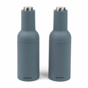 Progress COMBO-2190 Gravity Electric Salt and Pepper Mills, Grey Thumbnail 5