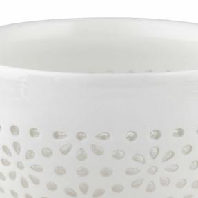 Cambridge COMBO-2206 Charlotte Sandringham Lace Porcelain China Footed Mugs, Set of 6 Thumbnail 5
