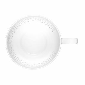 Cambridge COMBO-2207 Lace Polka Hearts Porcelain China Mugs, Set of 4 Thumbnail 4
