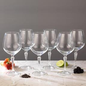 RCR COMBO-2191 Glamour Burgundy Balloon Gin Glasses, Set of 12 Thumbnail 7