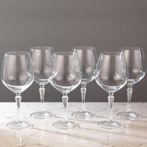 RCR COMBO-2191 Glamour Burgundy Balloon Gin Glasses, Set of 12 Thumbnail 8