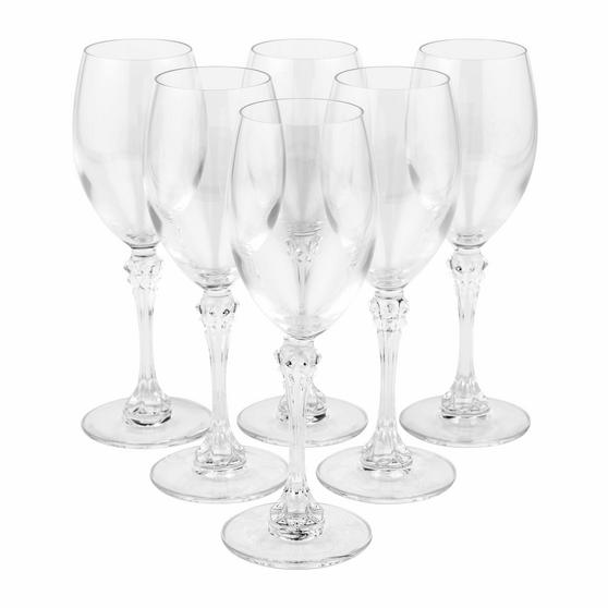 Luminarc COMBO-2169 Poetic 25 cl Elegant Wine Glasses, Pack of 6