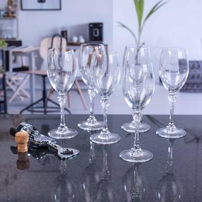 Luminarc COMBO-2169 Poetic 25 cl Elegant Wine Glasses, Pack of 6 Thumbnail 2