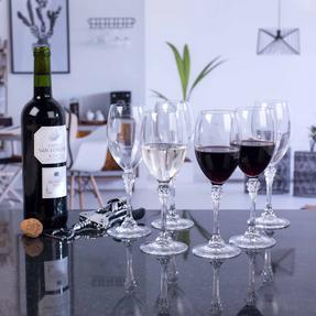 Luminarc COMBO-2169 Poetic 25 cl Elegant Wine Glasses, Pack of 6 Thumbnail 3