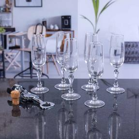 Luminarc COMBO-2171 Charms Glasses 17cl Champagne Flutes, Pack of 6 Thumbnail 4