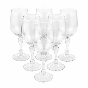 Luminarc COMBO-2173 Charms 26 cl Wine Glasses, Pack of 6