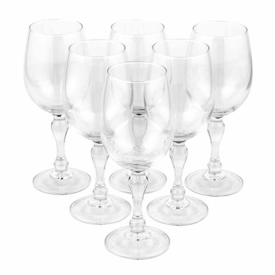 Luminarc L0705 Charms 36 cl Large Wine Glasses, Pack of 6