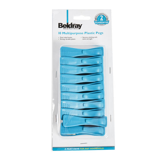 Beldray 26 Metre Rotary Outdoor Clothes Airer with 10 Extra-Strength Pegs Thumbnail 6
