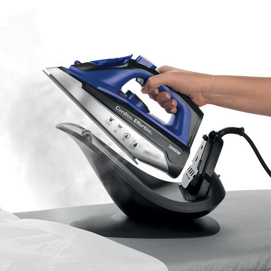 Prolectrix EF0274BGP 2-in-1 Cordless Steam Iron, 2600W
