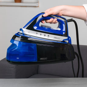 Prolectrix EF0279BGP Steam Surge Pro Iron with Continuous Steam Function, 1.2 L, 2400 W, Blue/Black  Thumbnail 6