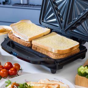 Beldray EK2017SBGP Deep Fill Sandwich Toaster, 900 W Thumbnail 3