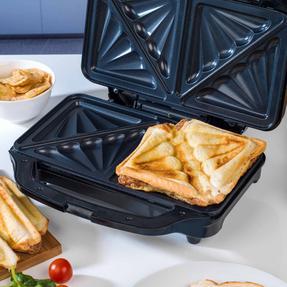 Beldray EK2017SBGP Deep Fill Sandwich Toaster, 900 W Thumbnail 4