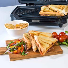 Beldray EK2017SBGP Deep Fill Sandwich Toaster, 900 W Thumbnail 5