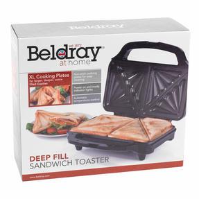 Beldray EK2017SBGP Deep Fill Sandwich Toaster, 900 W Thumbnail 12