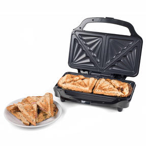 Beldray EK2017SBGP Deep Fill Sandwich Toaster, 900 W Thumbnail 2