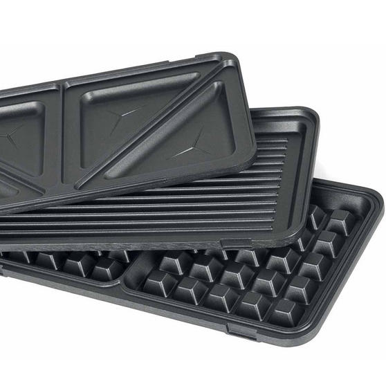 Beldray 2-in-1 Snack Maker with Sandwich and Waffle Plates Thumbnail 3