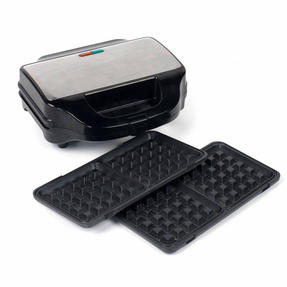 Beldray EK2143TWOBGP 2-in-1 Snack Maker with Sandwich and Waffle Plates Thumbnail 9