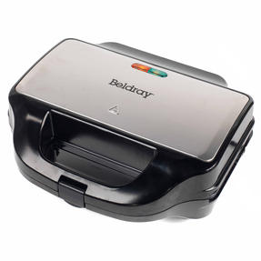 Beldray EK2143TWOBGP 2-in-1 Snack Maker with Sandwich and Waffle Plates Thumbnail 8