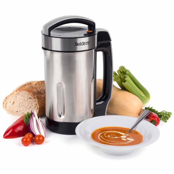 Beldray Stainless Steel Healthy Soup Maker, 1.6L