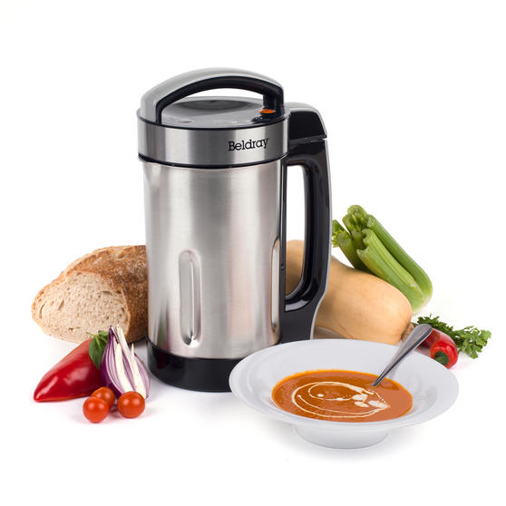 Beldray Stainless Steel Healthy Soup Maker, 1.6L Thumbnail 1