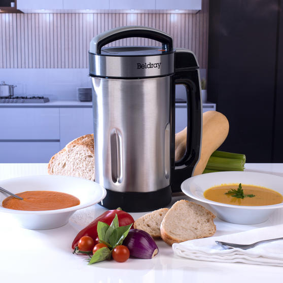 Beldray Stainless Steel Healthy Soup Maker, 1.6L Thumbnail 5