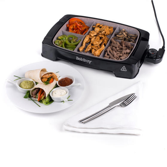 Beldray EK2646BGP Multi-Portion 5-in-1 Grill with Non-Stick Marble Coating