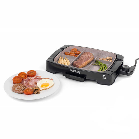 Beldray Multi-Portion 5-in-1 Grill with Non-Stick Marble Coating