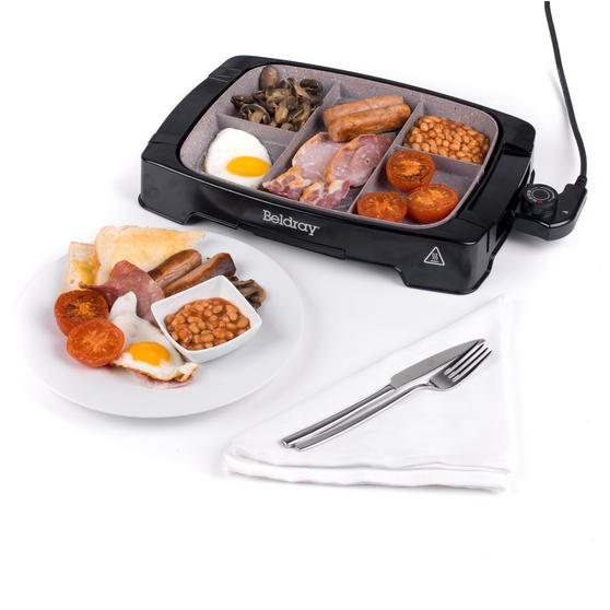 Beldray Multi-Portion 5-in-1 Grill with Non-Stick Marble Coating Thumbnail 5