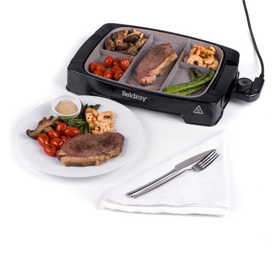 Beldray Multi-Portion 5-in-1 Grill with Non-Stick Marble Coating Thumbnail 6